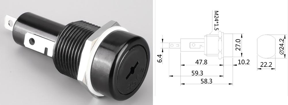 http://www.hzhinew.com/panel-mount-fuse-holder-h3-41.html