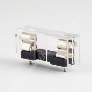 10a fuse holder,6x30mm,250V,PBT,MF550   HINEW