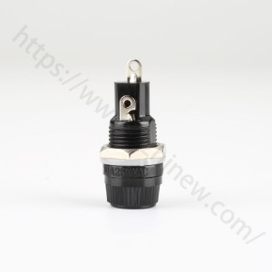 20mm fuse holder,screw cap panel mount,10a 250v,FH043B | HINEW