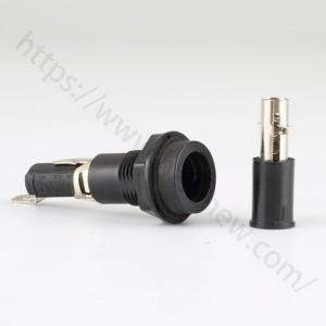6.3 amp panel mount fuse holder,250v,5x20mm,H3-19A | HINEW