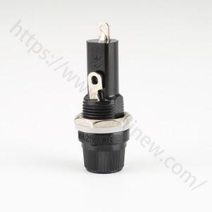 6x30mm fuse holder panel mount,250v 10a,H3-13F | HINEW
