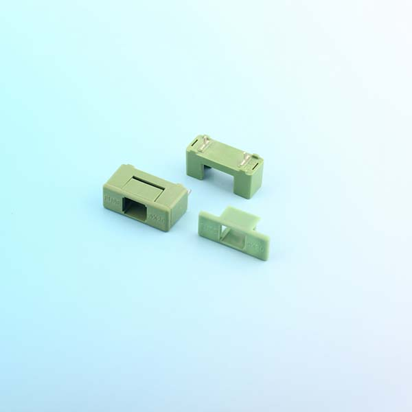 mini blade fuse holder pcb,PCB Mount,10A,250VAC,5X20mm | HINEW-H3-77A Featured Image