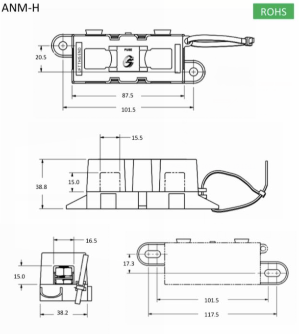 ANM Fuse Holder Description