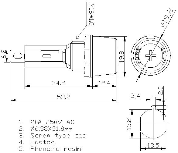 https://www.hzhinew.com/20-amp-panel-mount-fuse-holder250v5x20mmh3-52b-hinew-product/