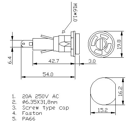 https://www.hzhinew.com/20a-250v-fuse-holder-panel-mount6x30mmh3-55b-hinew-product/
