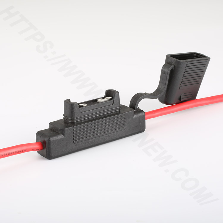 Automobile fuse holder inline,Large,PVC,Black,H3-83 | HINEW Featured Image