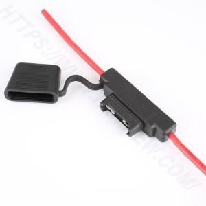 Automobile fuse holder inline,Large,PVC,Black,H3-83 | HINEW