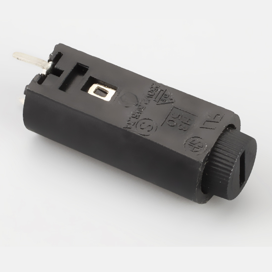 Fuse Holder/Fuse Box,5X20mm,PCB Mount,-20℃ -150 ℃,Hot Silicone PBT,Brass, Featured Image