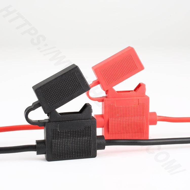 Car inline fuse holder,Medium,PVC,Black,H3-81 | HINEW Featured Image