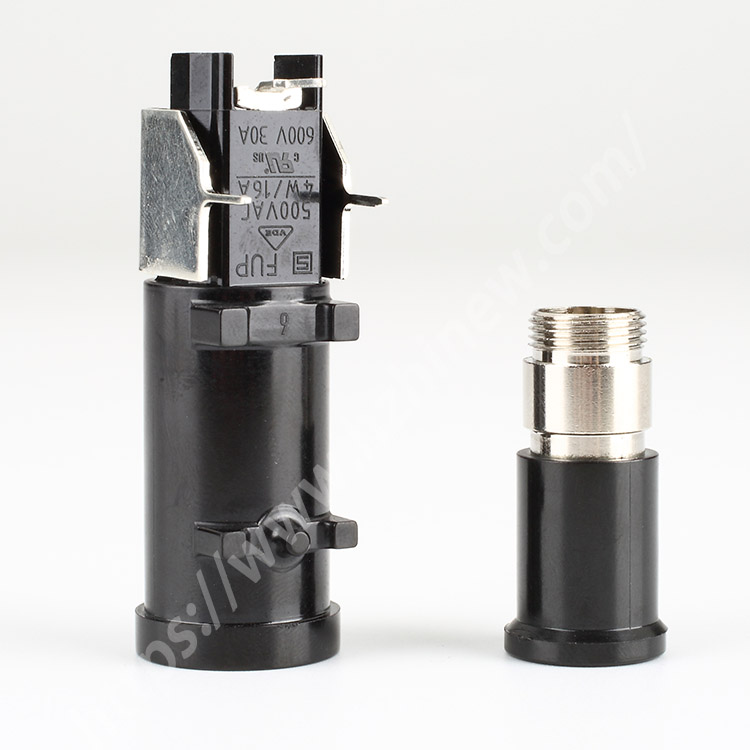 PCB mounted fuse holder,16-30A,500-600V,6x30mm,H3-31B | HINEW Featured Image
